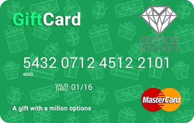مستر کارت هدیه / مستر کارت گیفت